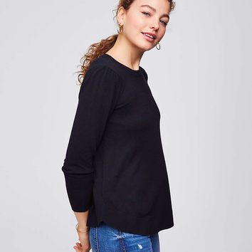 Puff Shoulder Sweater | LOFT