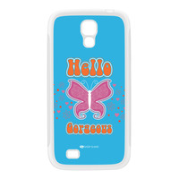 Sassy - Hello Gorgeous 10433 White Silicon Rubber Case for Galaxy S4 by Sassy Slang