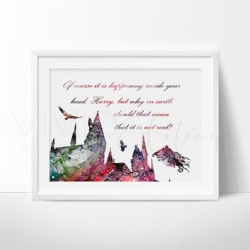 Hogwarts Quote 2, Harry Potter