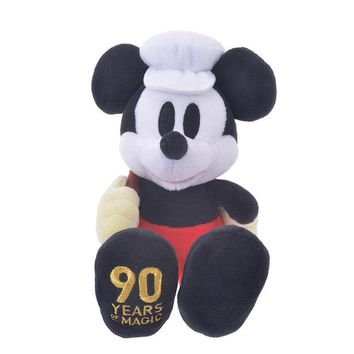 Disney Store Japan 90th 1936 Mickey Polo Team Plush New with Tags