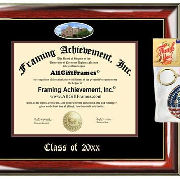 AllGiftFrames Custom Diploma Frame Embossed Colgate University Best Graduation Degree Frame Double Mat Campus Fisheye Colgate Picture Frame Cheap Degree Certificate Graduate Gift
