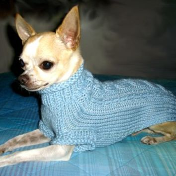 Chihuahua Knit sweater Small dog clothes coat Pets clothing fashion Puppy Sweater Irish