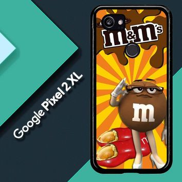 Chocolate Candy M&M Y2361 Google Pixel 2 XL Custom Case