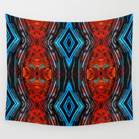 Expanding Energy Art by Sharon Cummings Wall Tapestry by Sharon Cummings