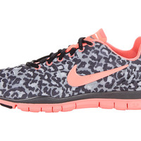 Nike Free TR Fit 3 Print Stealth/Metallic Hematite/Black/Atomic Pink - Zappos.com Free Shipping BOTH Ways