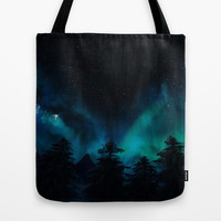 Stary Night  Tote Bag by North Star Artwork