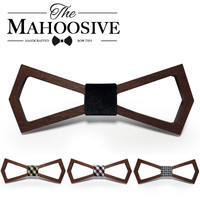 Mens wood Handmade Bow Ties