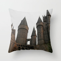 Hogwarts Castle Pillow, Wizarding World Harry Potter Pillow, Photo Pillow Case, Canvas Throw Pillow, Marauders Map, 16X16 Pillow Cover,18X18