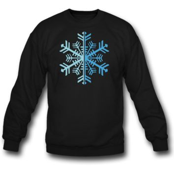 2 Color Winter Snowflake SWEATSHIRT  CREWNECKS