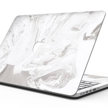 Mixtured Gray 19 Textured Marble - MacBook Pro with Retina Display Full-Coverage Skin Kit