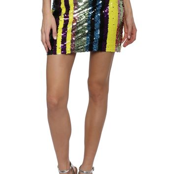 A World Away Disco Sequin Skirt