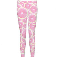 Pink Grapefruit Leggings