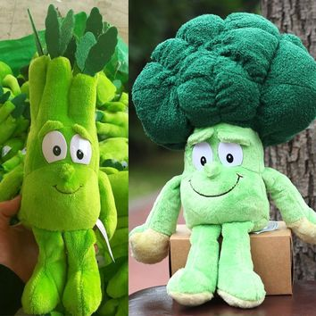 """Quick Delivery Fruits Vegetables Bean Starwberry Pumpkin 9"""" Soft Plush Doll Toy"""