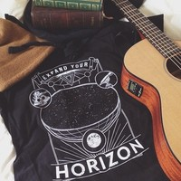 Expand Your Horizon (Astronomy) Tee (Unisex) from Nu-Common Sense