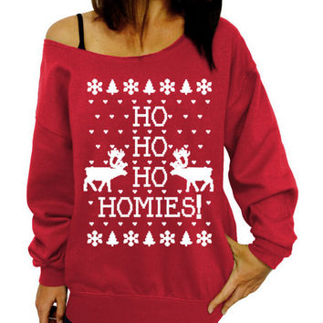 Fashion Christmas deer printing sweater