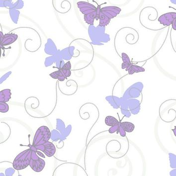 York BS5398 Room to Grow Butterfly Wallpaper