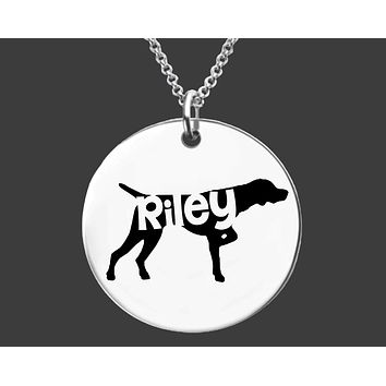 German Shorthaired Pointer  Necklace | Dog Jewelry