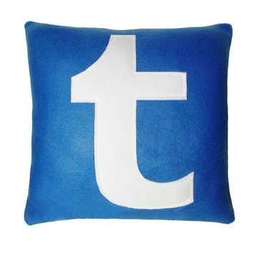 Tumblr Pillow by Craftsquatch on Etsy
