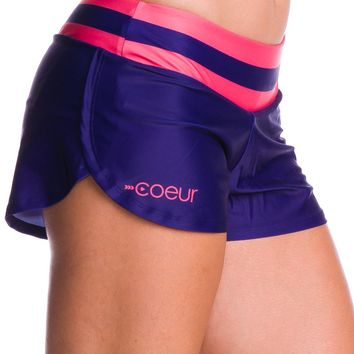 Women's Running Shorts in Crew Design