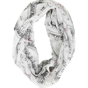 Disney The Aristocats Marie Infinity Scarf