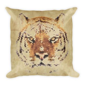 Pixel Animal Print Pillows