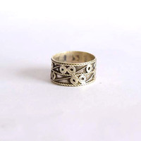 ring, silver ring, spiral silver ring, 92.5 sterling silver,  Silver Ring, RNSL224