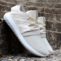 "Trending ""Adidas"" Women Running Sport Casual Shoes Sneakers Beige"