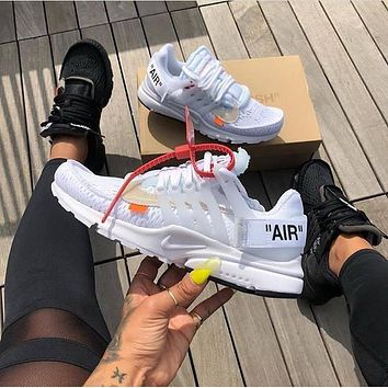 OFF-WHITE x NIKE Air Presto running shoes