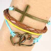 Love Bracelet Cross Bracelet Bangle Bracelet Leather Bracelet Jewelry Bracelet Braid Bracelet Friendship Bracelet