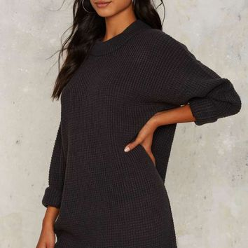 Nasty Gal Knit It Better Sweater