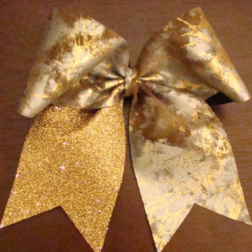 Cheer Bow by isparklethat on Etsy