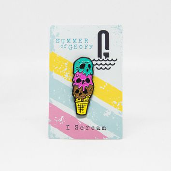 I Scream- Geoff Ramsey Enamel Pin #2