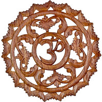 Ornate Om - Wall Plaque