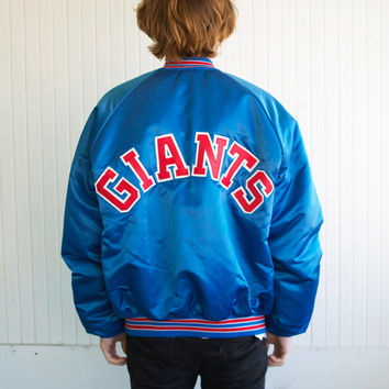 Vintage Chalk Line NY Giants Jacket