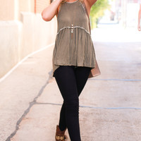 Fin Top - Olive