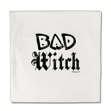 "Bad Witch Distressed Micro Fleece 14""x14"" Pillow Sham"