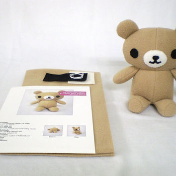Plush Bear Sewing Kit DIY