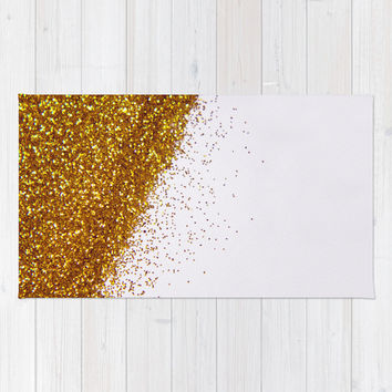 My Favorite Color II (NOT REAL GLITTER) Rug by Galaxy Eyes