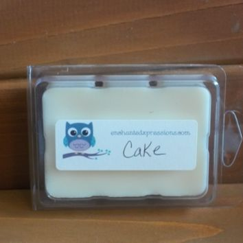Cake Soy Wax Break Away Tart