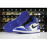 Air Jordan 1 Retro High OG 555088-403 Black/Royal Blue