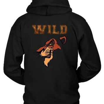 ESBH9S Scar The Wild Lion King Hoodie Two Sided