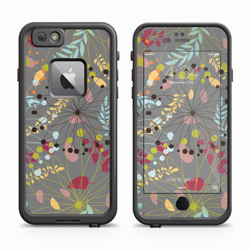 Stringy Vector Flower Petal Skin for the Apple iPhone LifeProof Fre Case