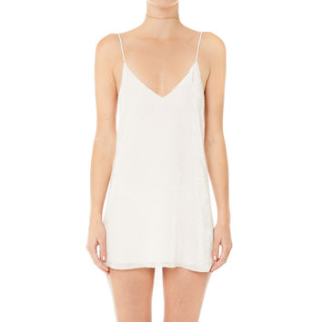 Devoré Velvet Zillah Slip dress