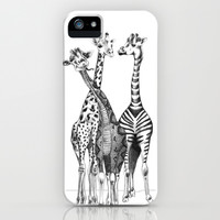 Funny Giraffes iPhone & iPod Case by DejaLiyah | Society6
