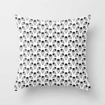 Plumme Throw Pillow by lalainelim