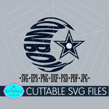 Cowboys SVG,Football monogram,Football svg,Monogram Cowboys,Cowboys svg,Dallas svg,NFL svg,Cricut Designs,Silhouette Designs