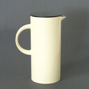STELTON Water Pitcher, DANISH MODERN, Designed by Erik Magnussen, Made in Denmark, Danish Design Classic, Retro Kitchenware Servingware