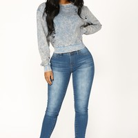 Good Things Skinny Jeans - Medium Wash