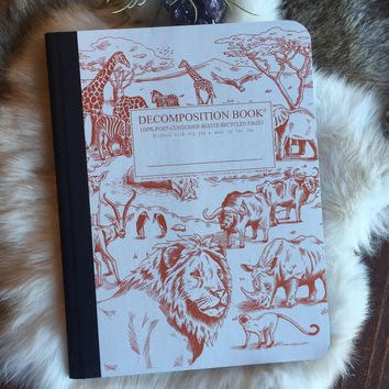 Decomposition Book: African Safari