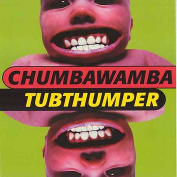 Chumbawamba Tubthumper Album Cover Poster 23x34